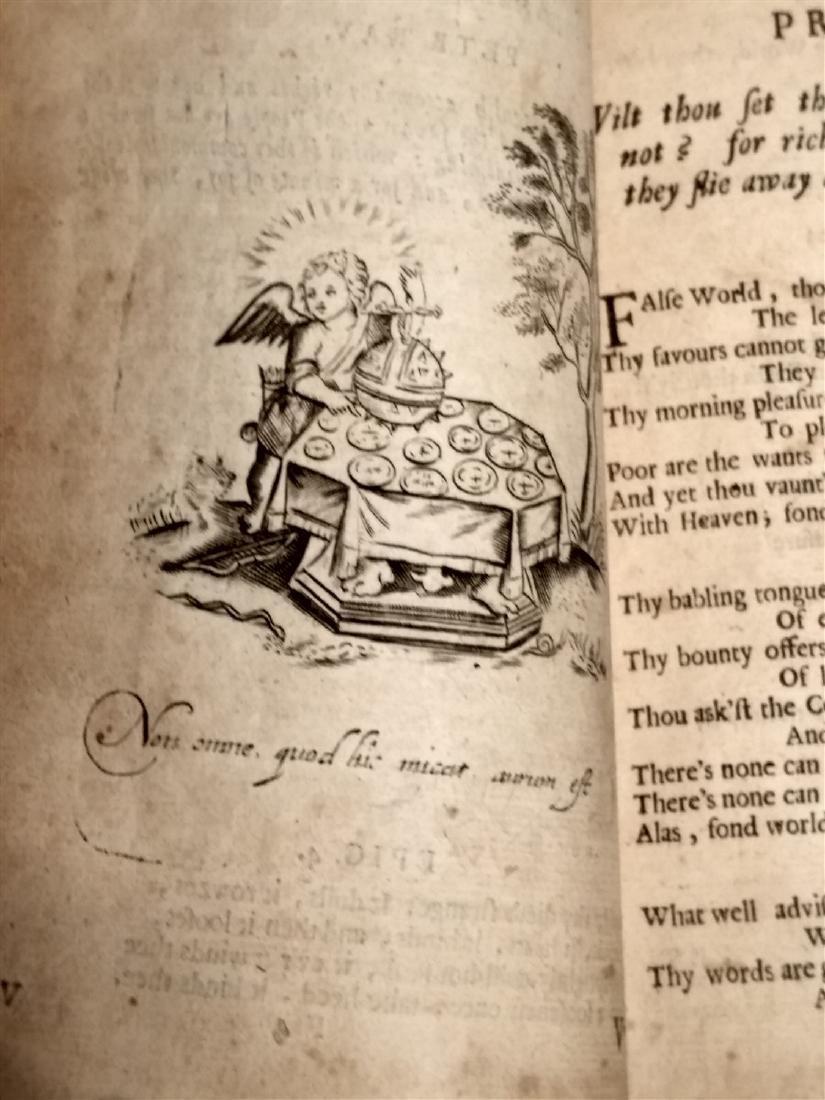 Antique Book 1634 Religious Book - 5
