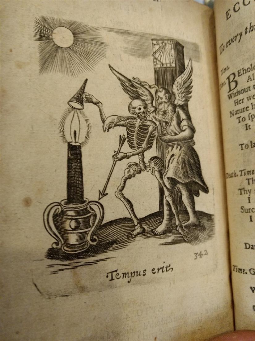 Antique Book 1634 Religious Book - 8