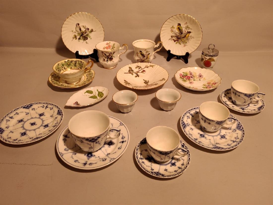 Antique China Tea Sets Mixed Lot