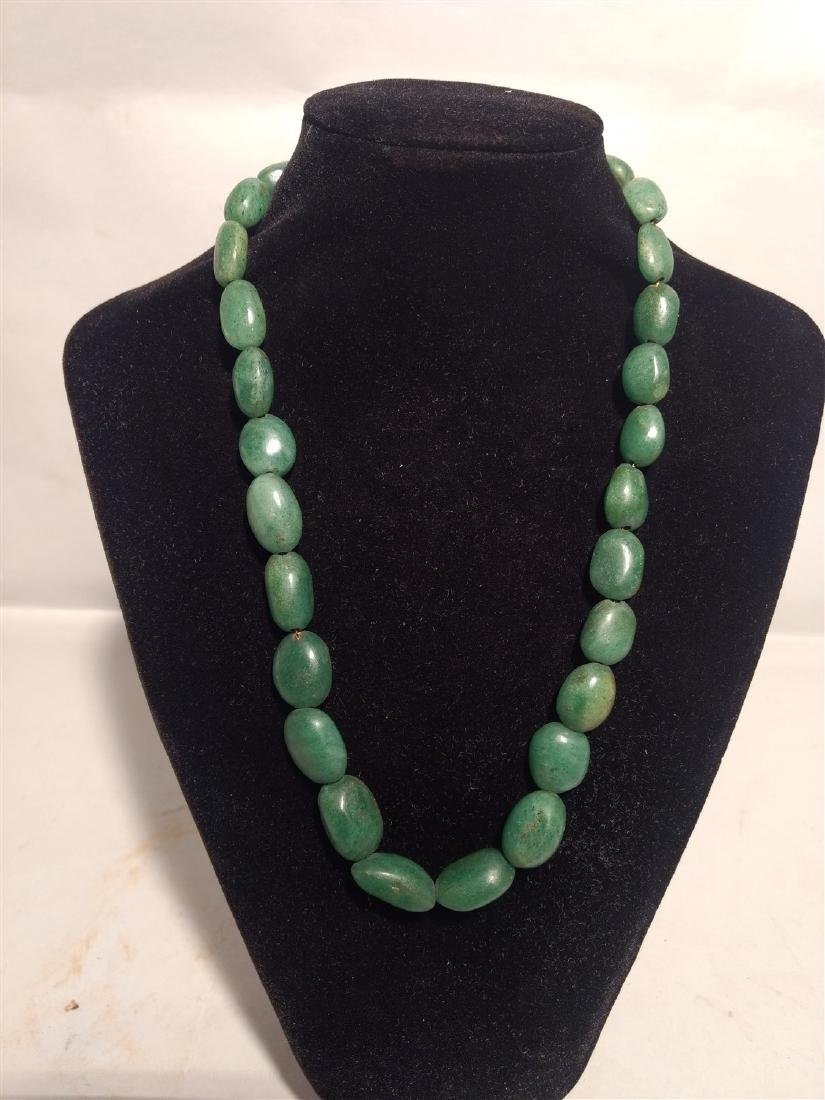 Jade Necklace on Chain