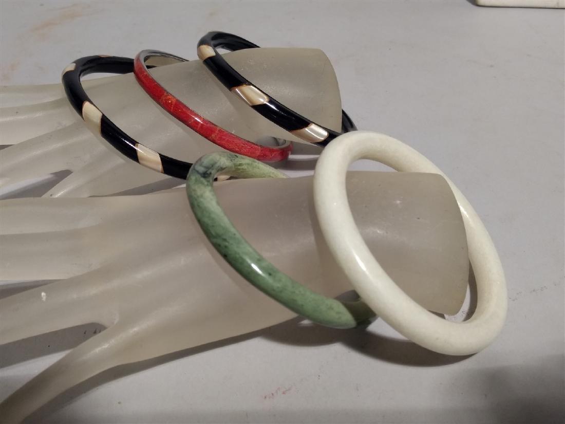 Jewelry Lot of Bangle Bracelets
