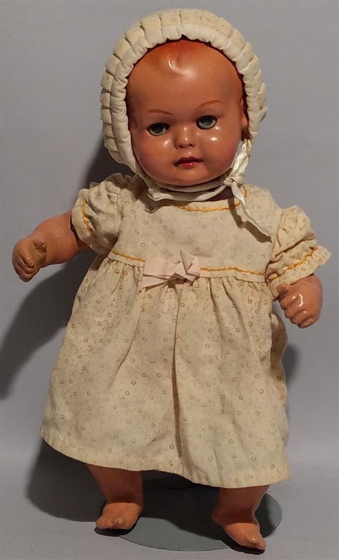 1940's-50's Antique Composition Doll