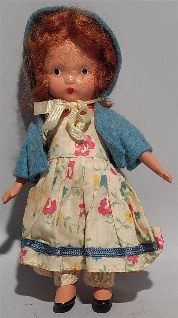 Antique Rare Story Book Doll Nancy Ann 1930's-40's