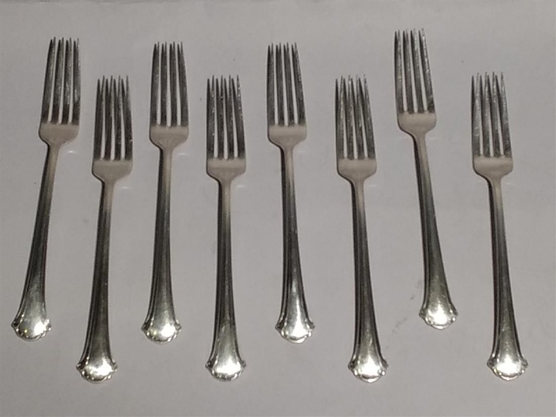 Antique Towle Sterling Silver Flatware Chippendale