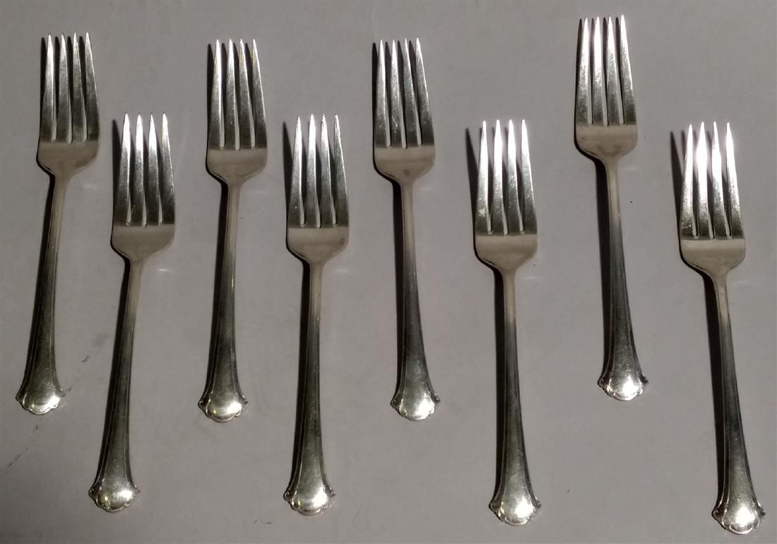 Sterling Silver Towle Flatware Chippendale Pattern