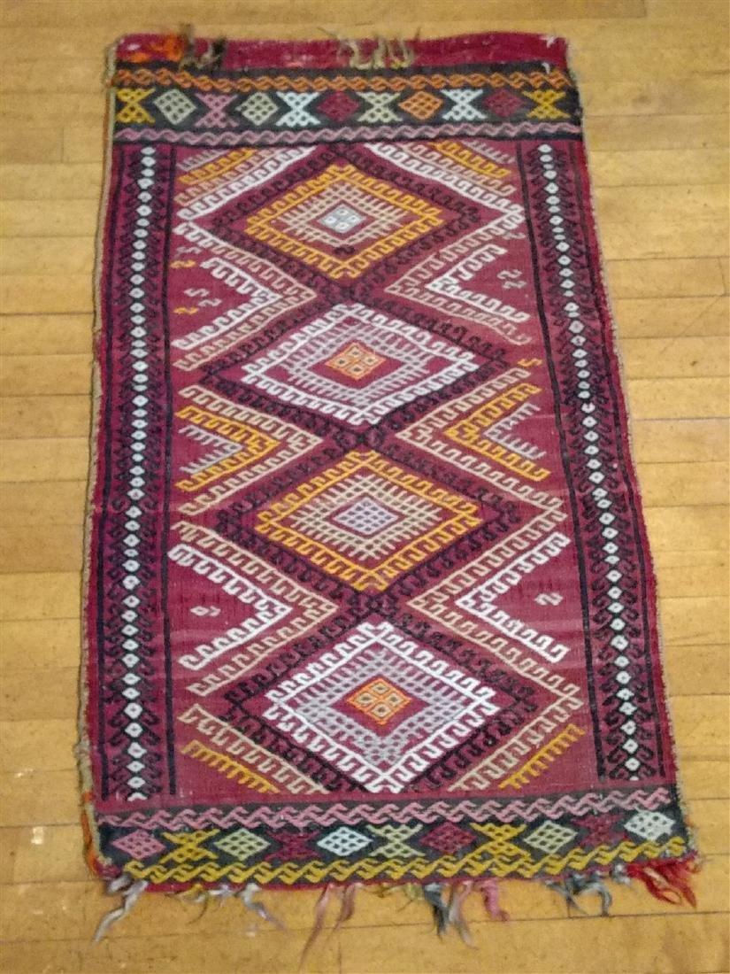 Early Persian Saddle Bag  2 x 4