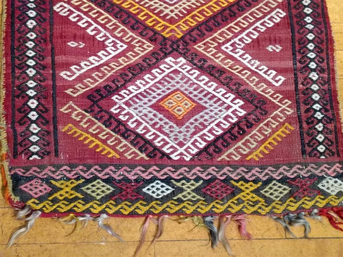Early Persian Saddle Bag  2 x 4 - 2