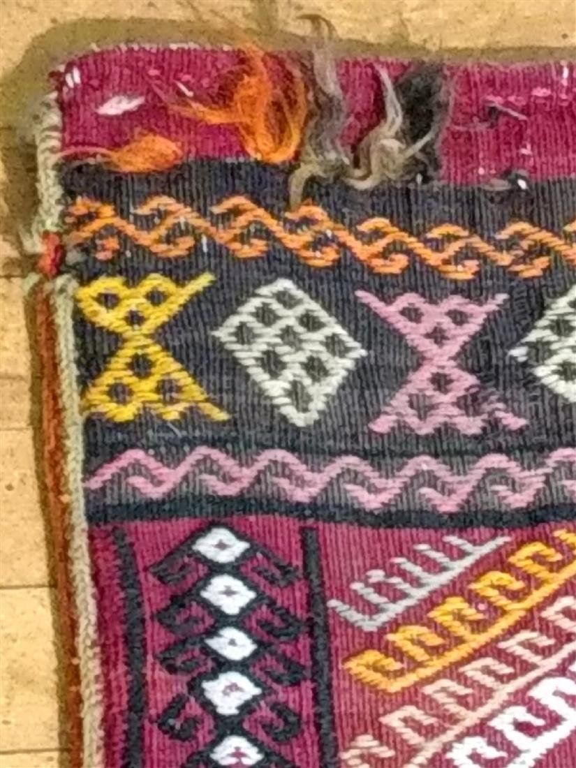 Early Persian Saddle Bag  2 x 4 - 4