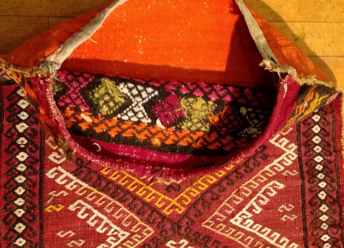 Early Persian Saddle Bag  2 x 4 - 5