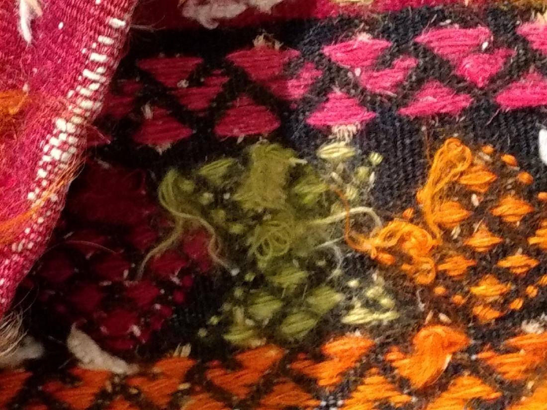 Early Persian Saddle Bag  2 x 4 - 9