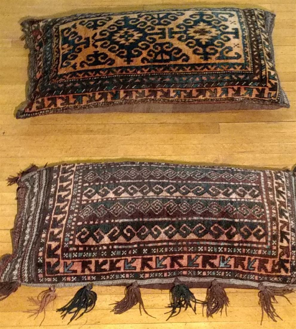 Persian Saddle Bags made to Pillows