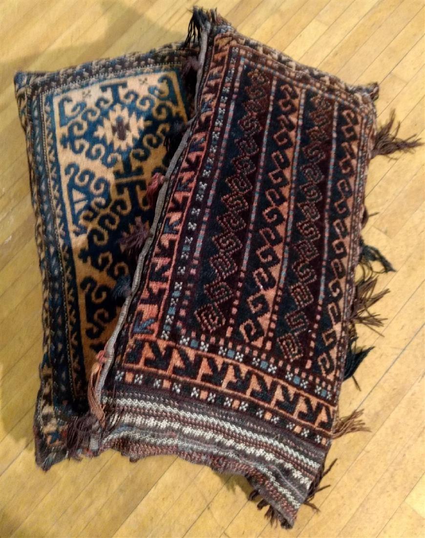 Persian Saddle Bags made to Pillows - 5