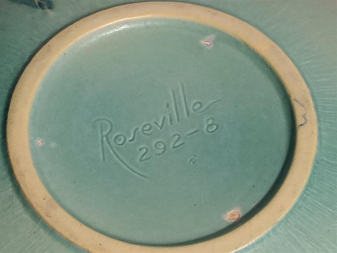 Roseville Pottery Console Mold Dish Pink Planter - 6