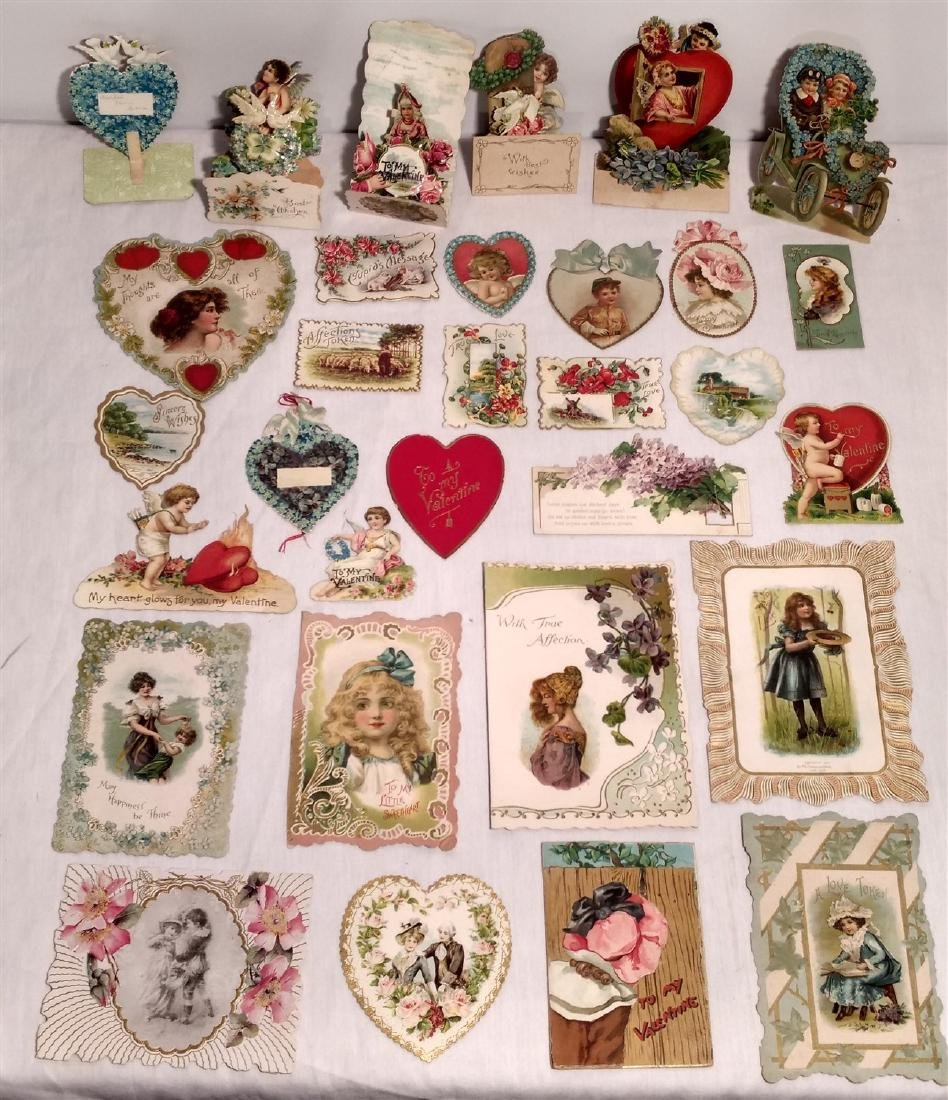 Antique Valentine's Day Cards 1910