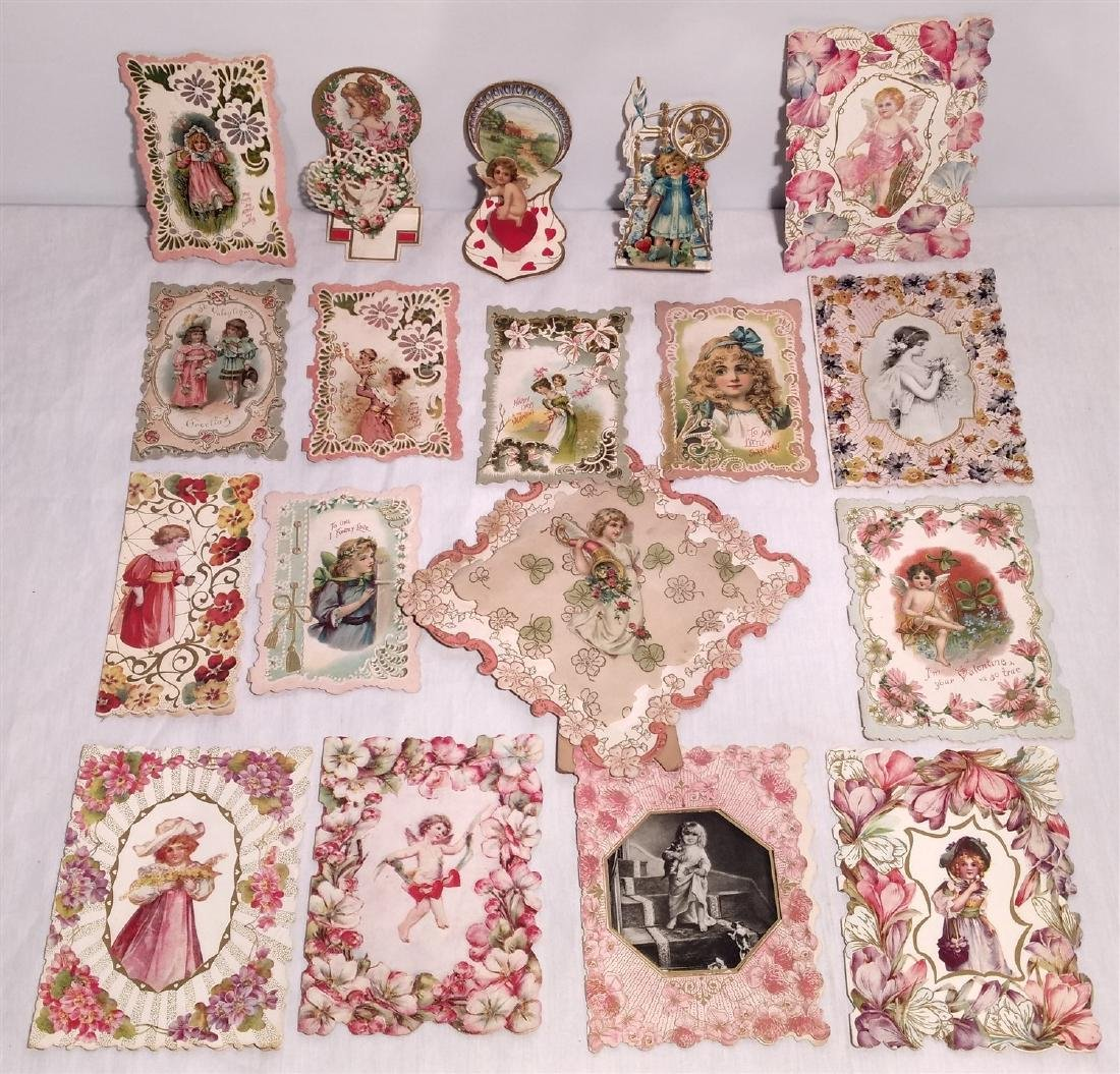 Antique Valentine's Greeting Cards 1910 Era