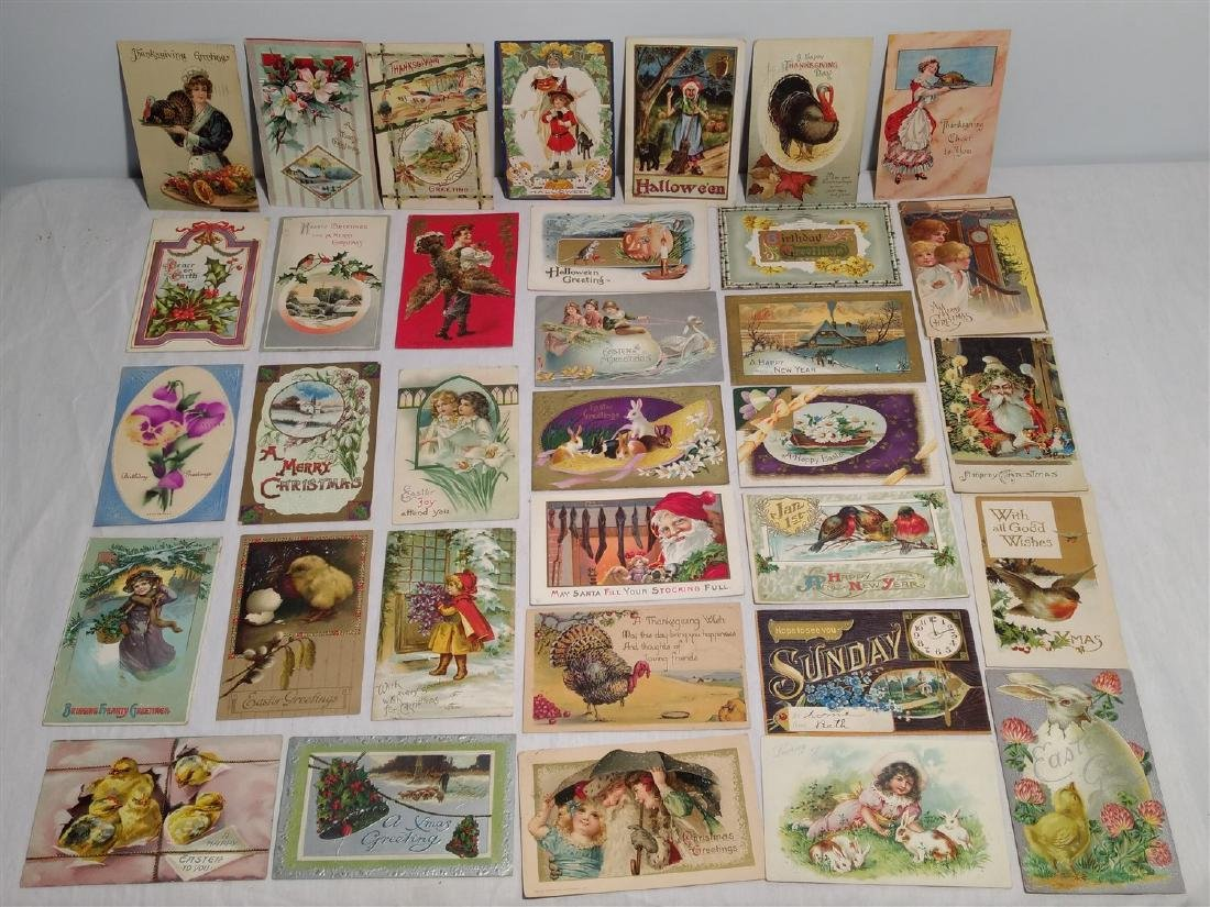Antique Post Cards 1908-1911