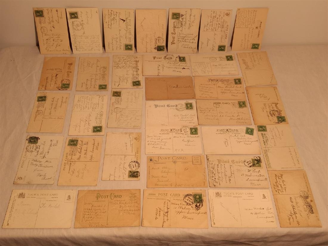 Antique Post Cards 1908-1911 - 6