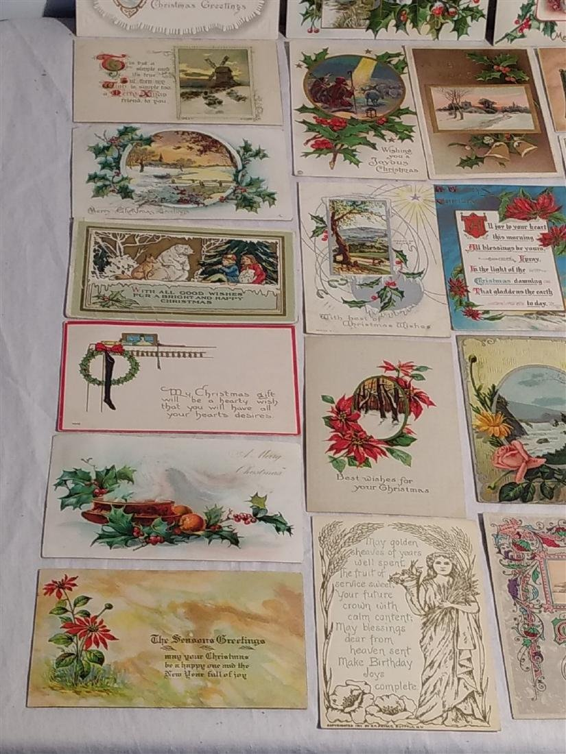 Antique Post Cards 1908-1922 Lot of 60 - 3