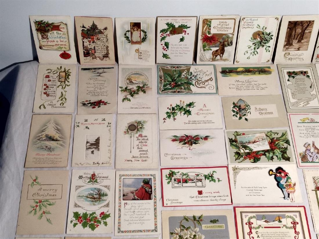 Antique Post Cards 1908-1922 Lot of 60 - 4
