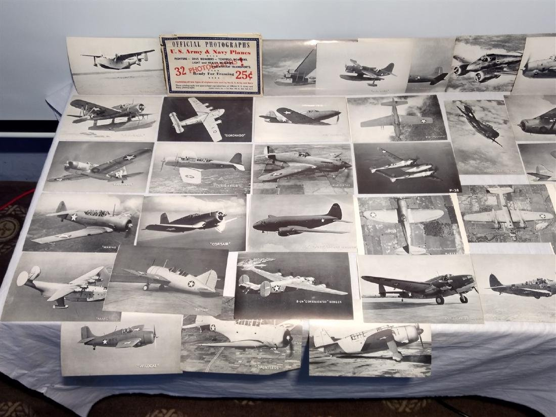 Antique Photographic Images US Army & Navy 1940's