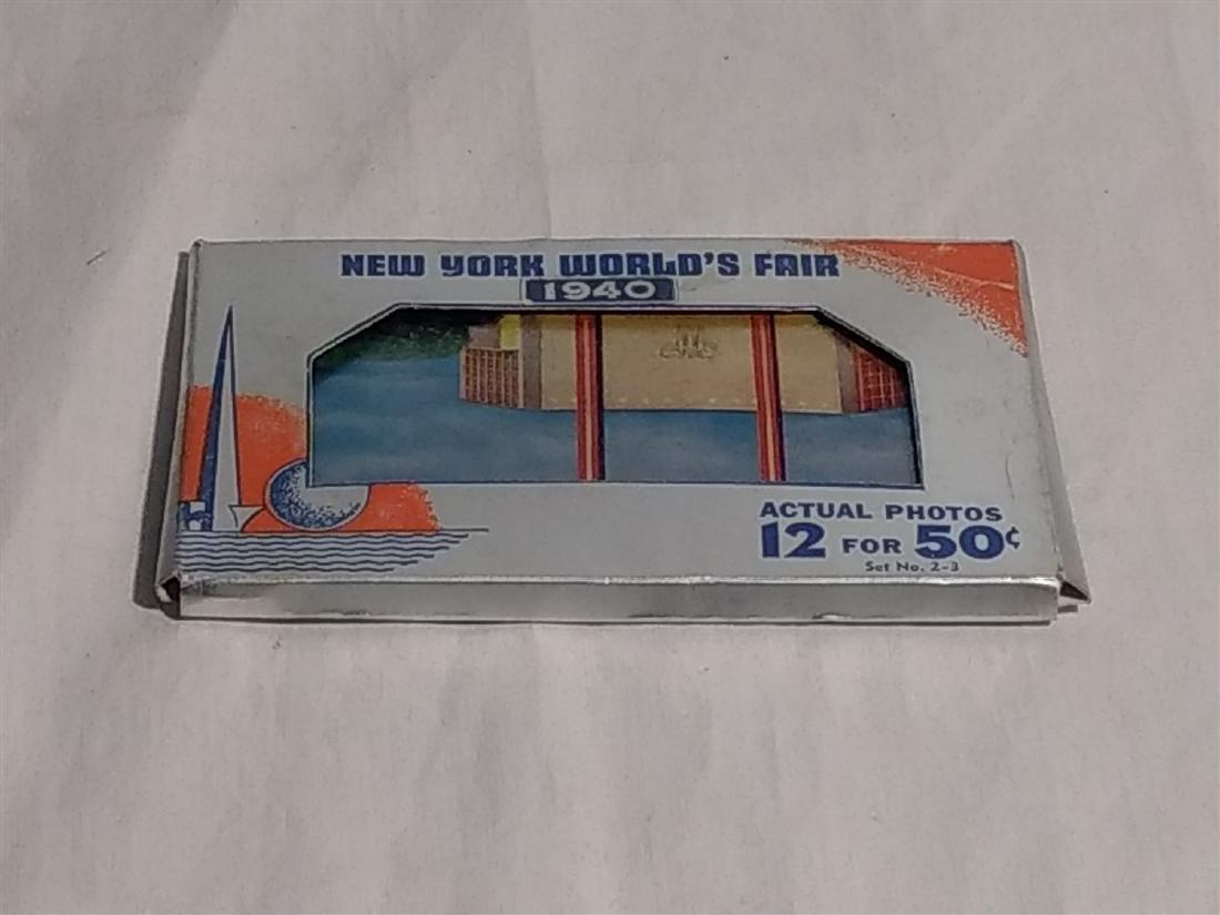 Antique Post Cards RPPC 1940 New York World's Fair Set