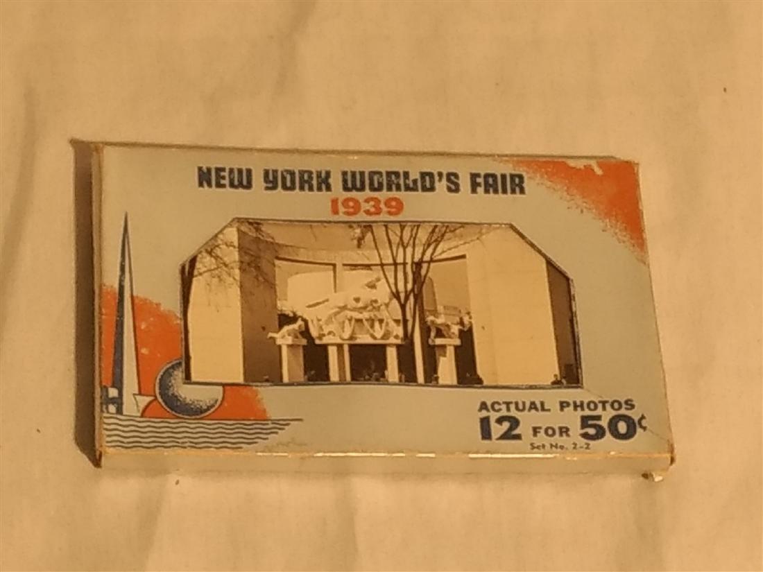 Antique Post Cards 1939 New York World's Fair