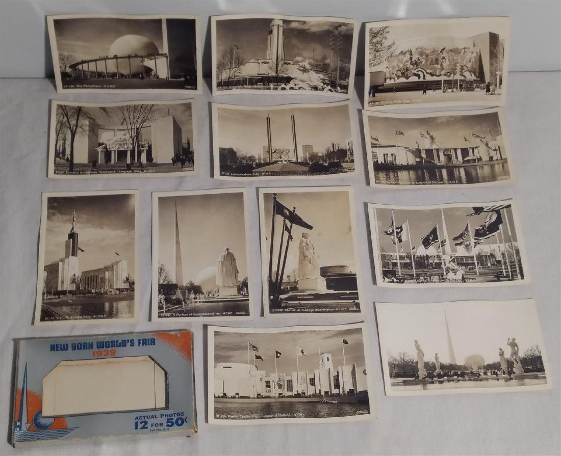 Antique Post Cards 1939 New York World's Fair - 2