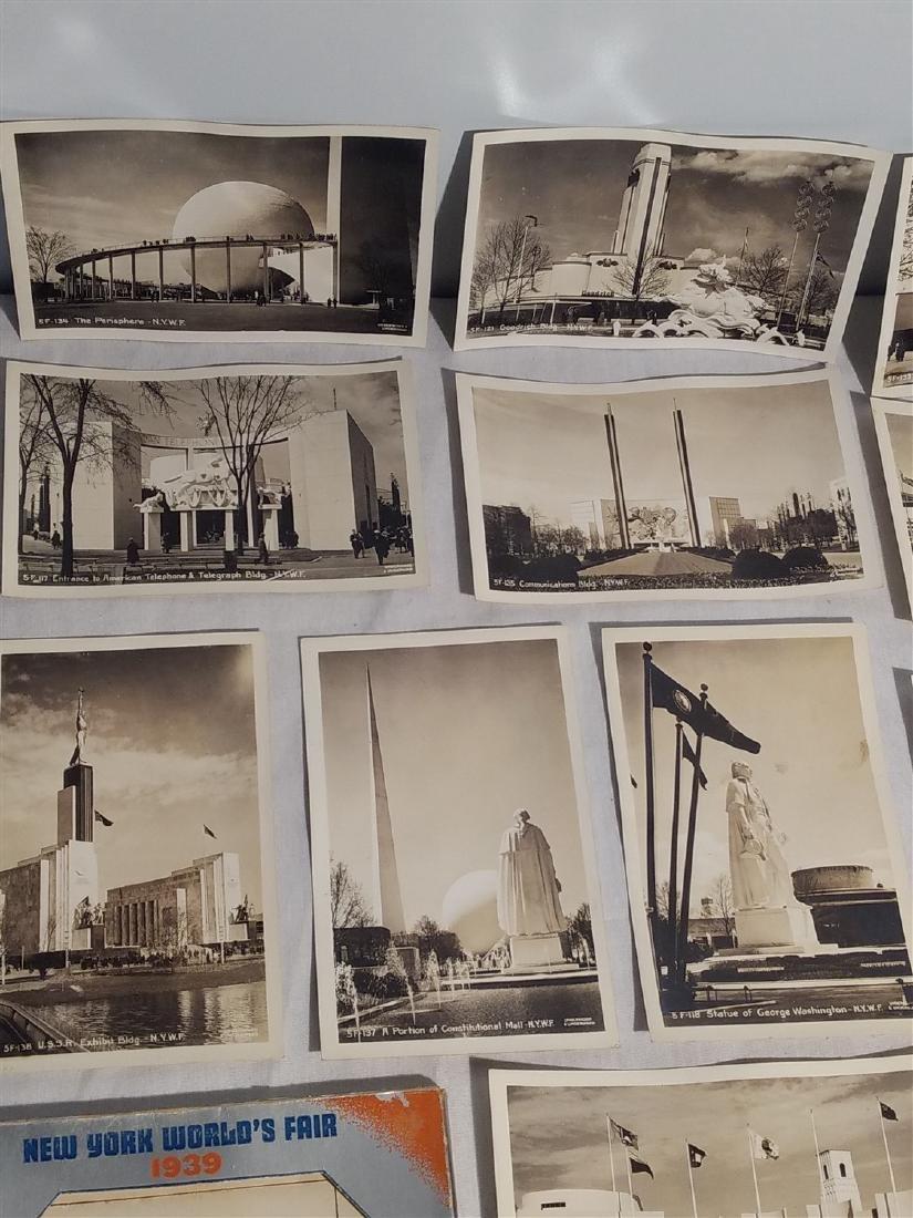 Antique Post Cards 1939 New York World's Fair - 3