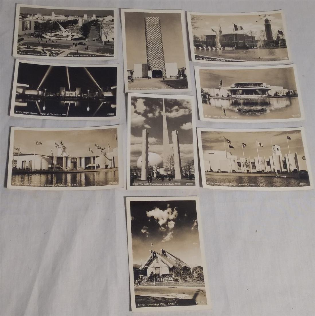 Post Cards/Photographic Images World's Fair 1930's