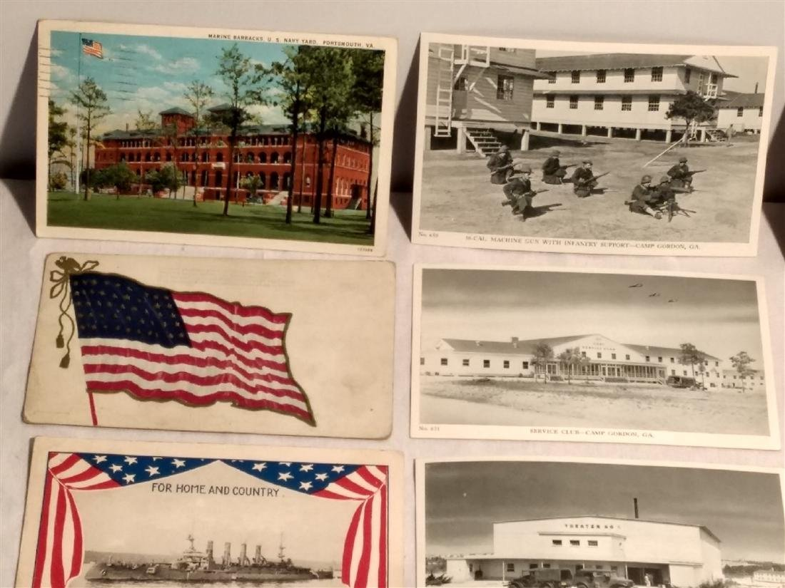 Antique Post Cards Military & Patriotic Theme - 2
