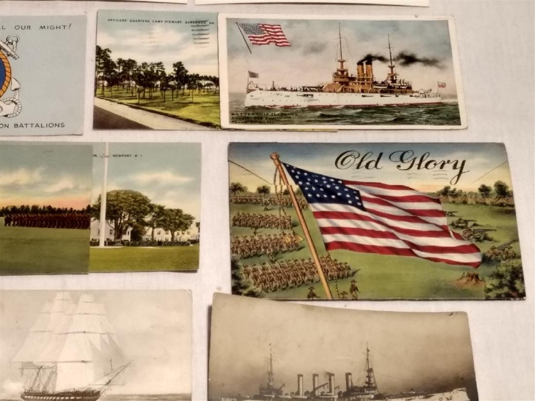 Antique Post Cards Military & Patriotic Theme - 4