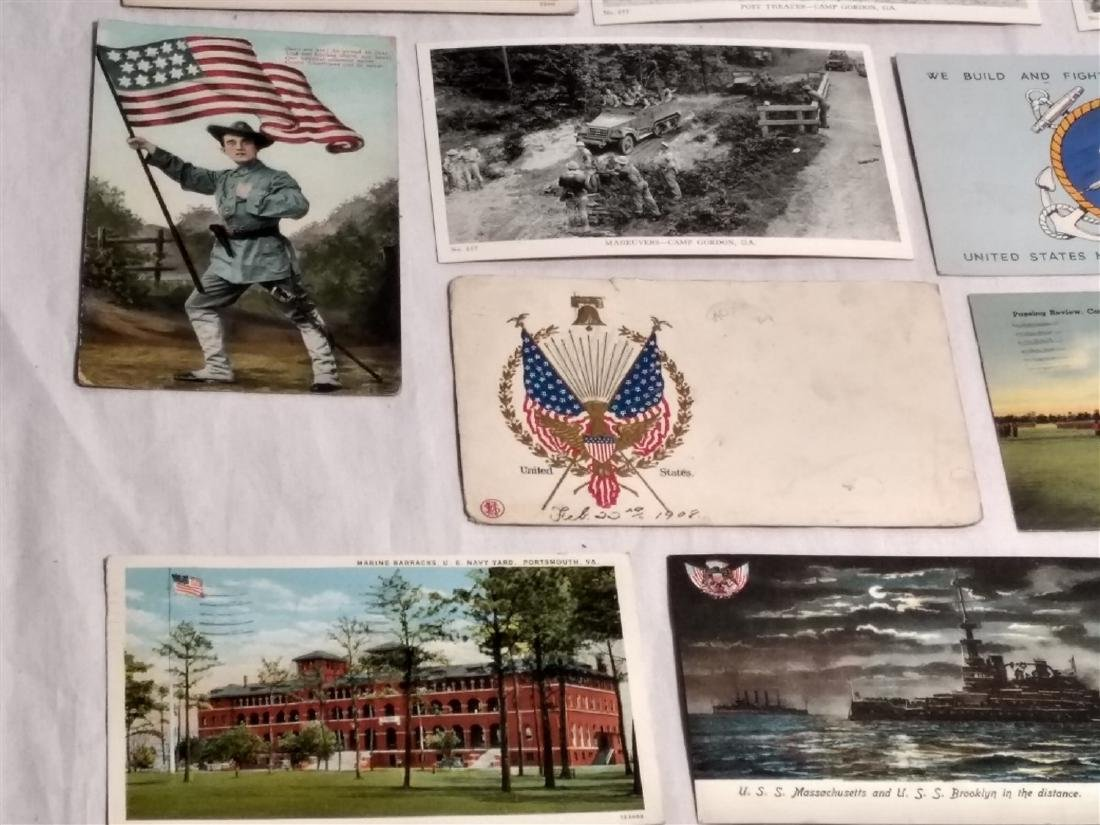 Antique Post Cards Military & Patriotic Theme - 6