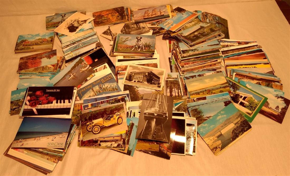 Monstrous Lot of Post Cards 1950's All Themes