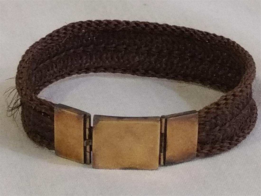 Victorian Mourning Jewelry, Bracelet, Earrings, Brooch - 3
