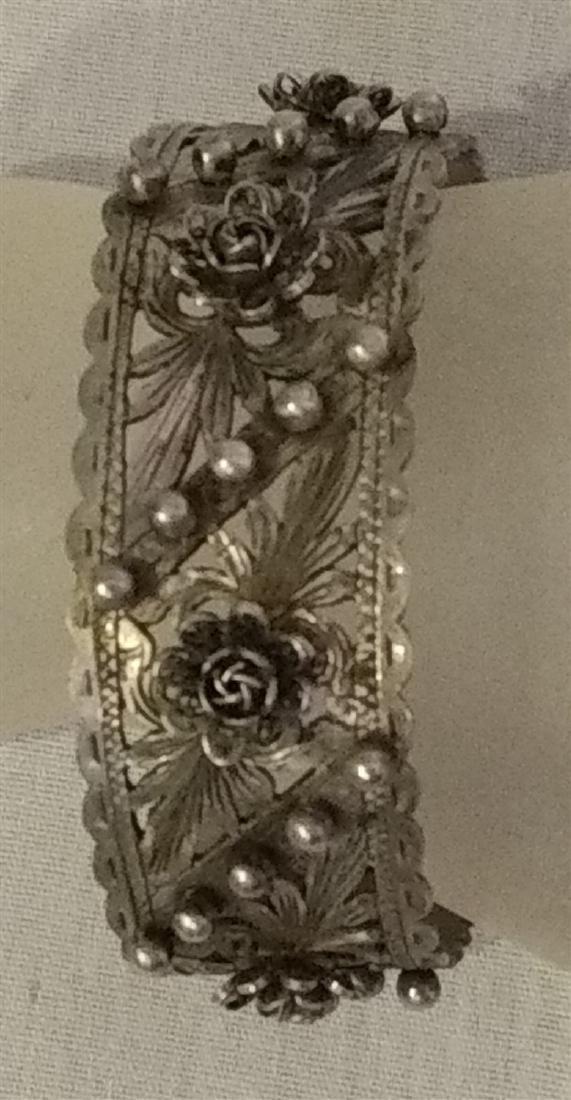 Jewelry Vintage Florence Italy Cuff Bracelet