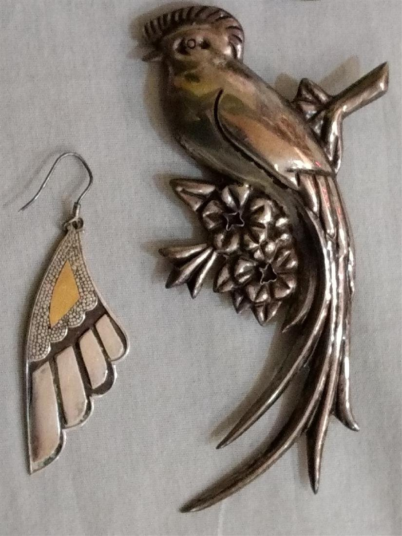 Jewelry Sterling Silver Pins/Brooches/Bangles/Pendant - 5