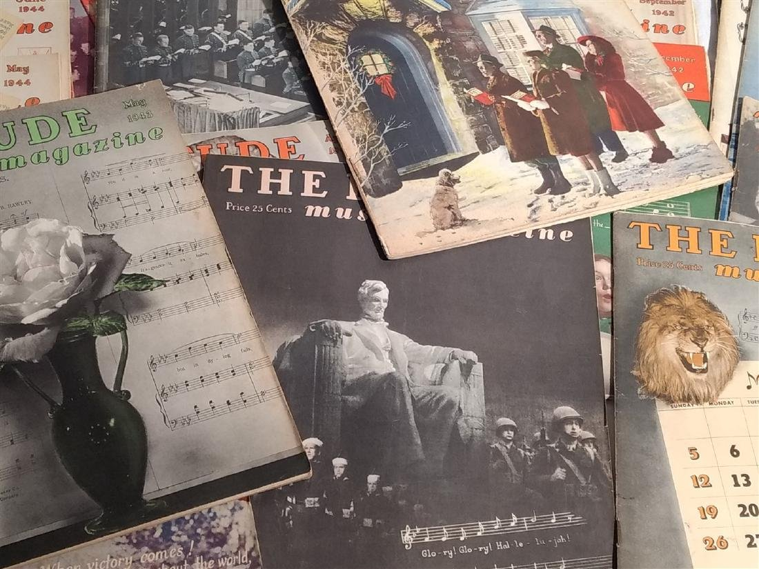 Group of 27 Antique The Etude Music Magazines - 3