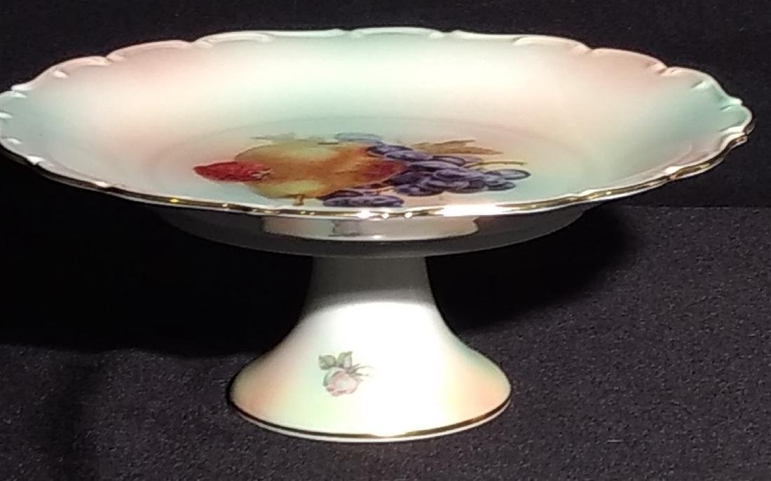 Antique Schumann Arzberg Bavaria Compote Cake Stand - 2