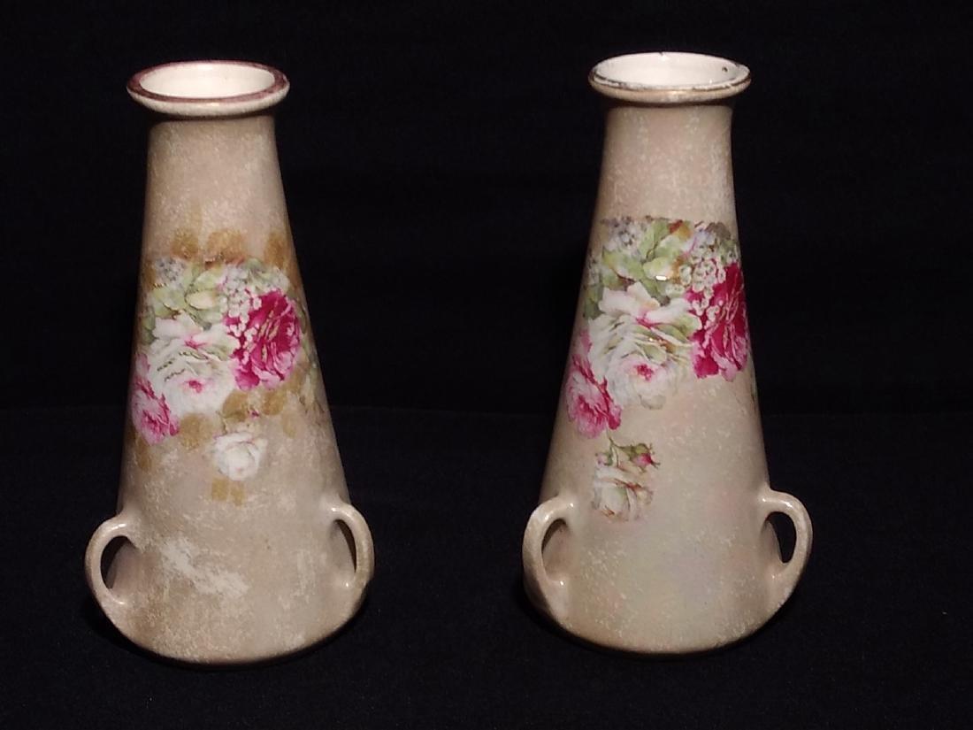 Teplitz Stellmacher Austria Pair of Vases
