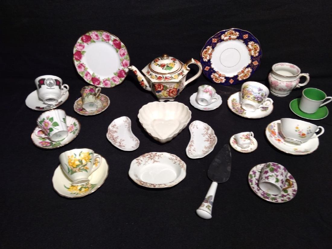 Antique Bone China/Porcelain Lot