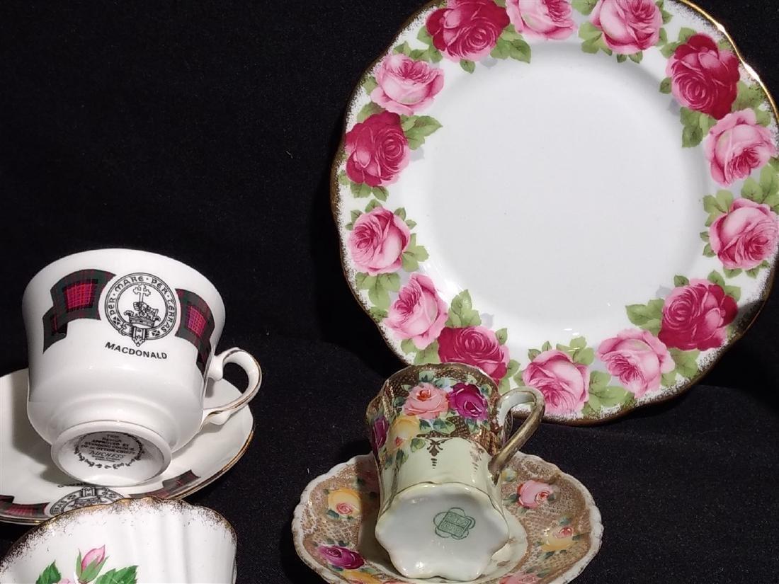 Antique Bone China/Porcelain Lot - 5