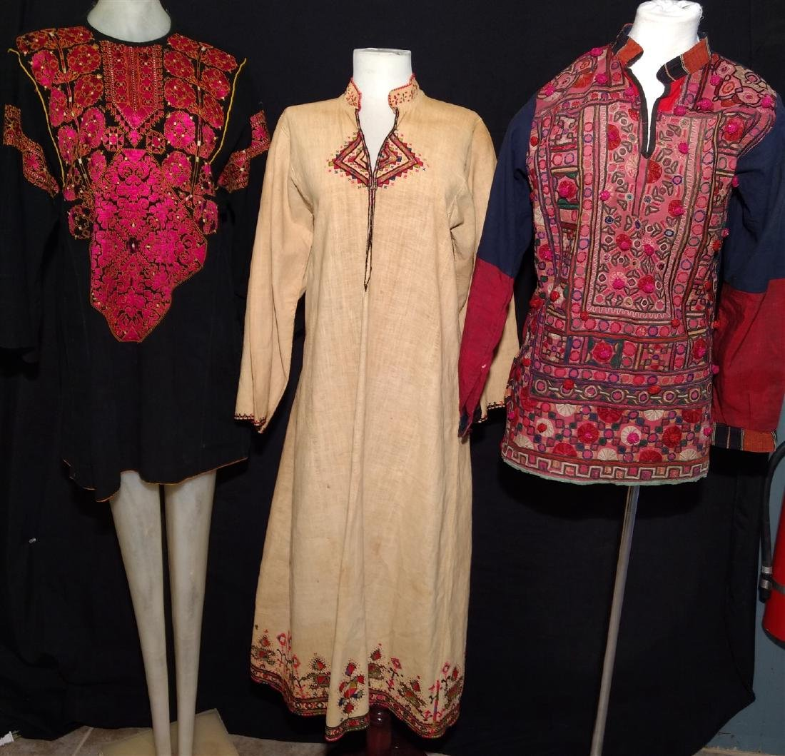 Vintage Clothing. Mixed Ethnic, Cultural pieces. India,