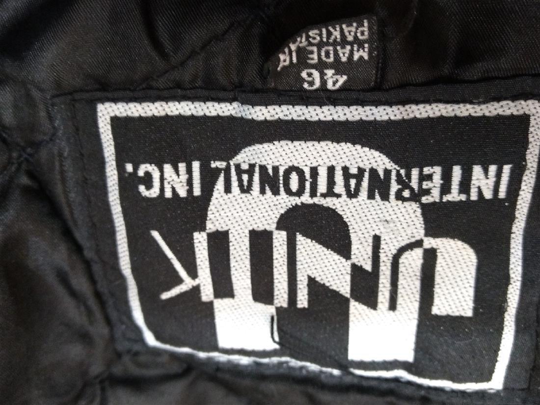 Vintage Clothing.    Leather & Fringe Jacket. - 5