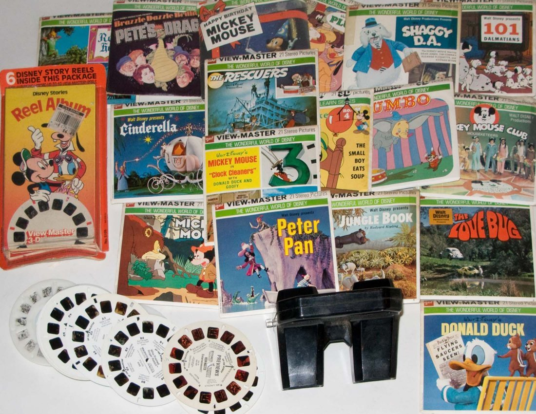 Viewmaster Viewer and Reels