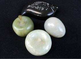 Lot of 4 Jade Peices
