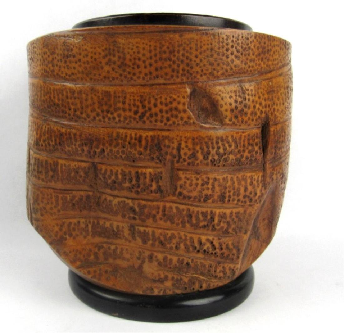 Very Old Bamboo Vase