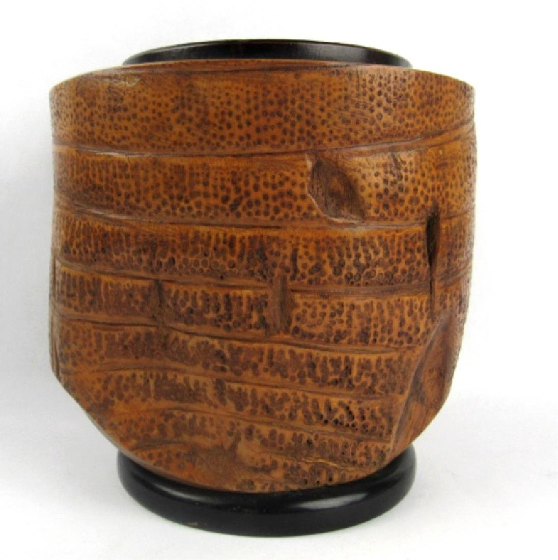 Very Old Bamboo Vase - 2