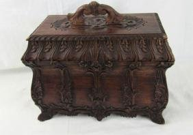 Beautiful Carved Wood Box
