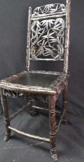 Baroque Huanghuali Child's Chair