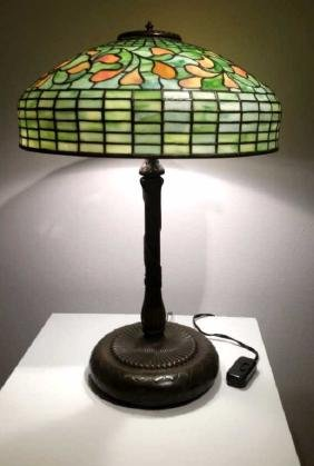 Old Tiffany Style Lamp